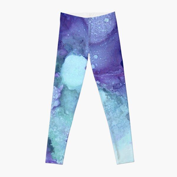 Mystery in Purple Leggings