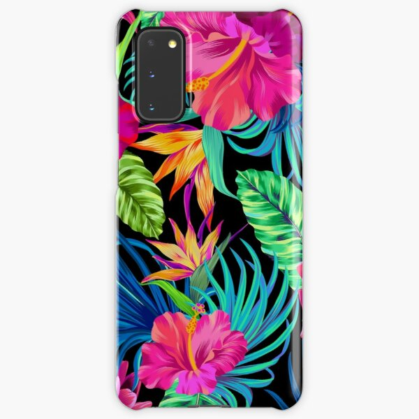 Drive You Mad Hibiscus Pattern Samsung Galaxy Snap Case