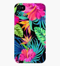 Drive You Mad Hibiscus Pattern iPhone 4s/4 Case