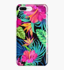 Drive You Mad Hibiscus Pattern iPhone 8 Plus Case