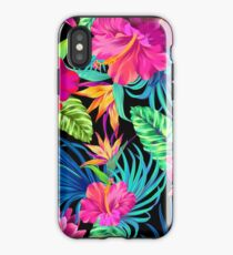 Vinilo o funda para iPhone Drive You Mad Hibiscus Pattern
