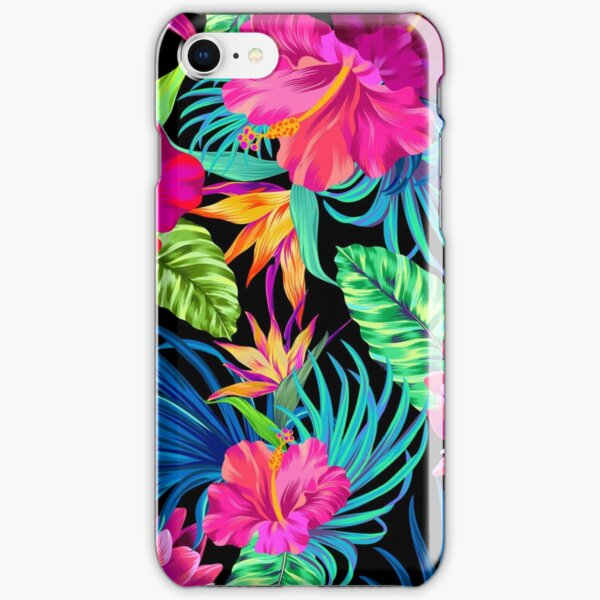 Drive You Mad Hibiscus Pattern iPhone Snap Case