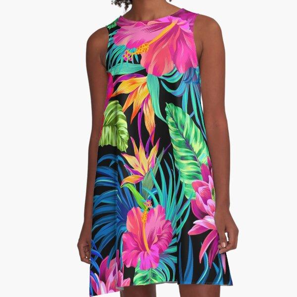 komisch A-Linien Kleid