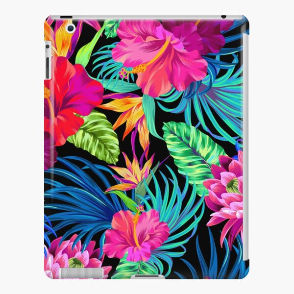 Drive You Mad Hibiscus Pattern iPad Snap Case