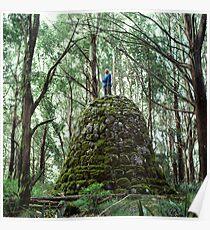 Mount Juliet Cairn, Yarra Ranges, Victoria. Poster