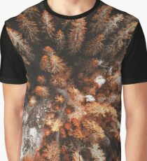 autumn pine forest Graphic T-Shirt