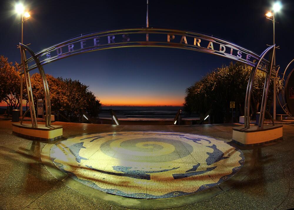 Surfer's Paradise sunrise by David James