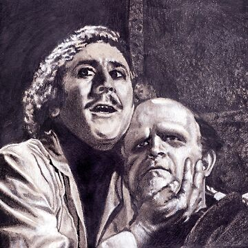 Young Frankenstein Portrait by TwoPopes