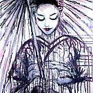Modern Geisha by whittyart