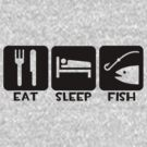 Eat, Sleep, Fish by shakeoutfitters