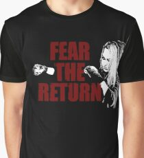 Ronda Roussey Fear The Return Graphic T-Shirt