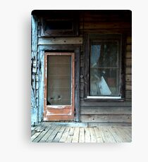 """Screen Door"" Canvas Print"
