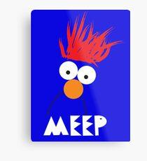 Beaker MEEP Metal Print