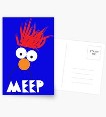 Beaker MEEP Postcards