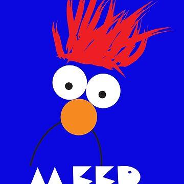 Beaker MEEP by baileygrl24