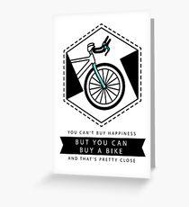 Bike Happiness Greeting Card