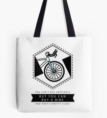 Bike Happiness Tote Bag