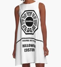 Dharma Initiative Halloween Costume A-Line Dress