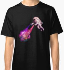 Shooting Stars - the astronaut artist Classic T-Shirt