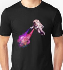 Shooting Stars - the astronaut artist Unisex T-Shirt