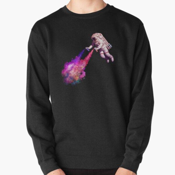 Shooting Stars - the astronaut artist Pullover Sweatshirt