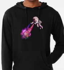 Shooting Stars - the astronaut artist Lightweight Hoodie