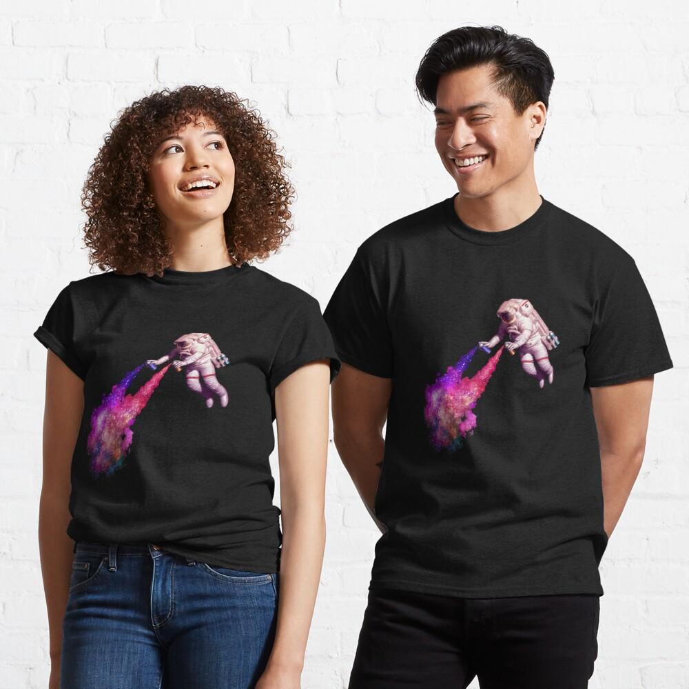 Shooting Stars - the astronaut artist Classic T-Shirt