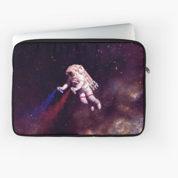 Shooting Stars - the astronaut artist Laptop Sleeve