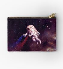 Shooting Stars - the astronaut artist Studio Pouch