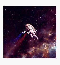 Shooting Stars - der Astronautenkünstler Fotodruck