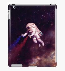 Shooting Stars - the astronaut artist iPad Case/Skin
