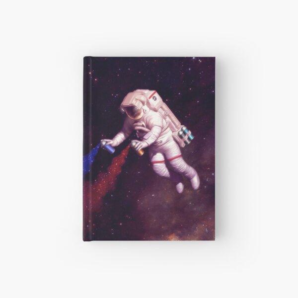Shooting Stars - the astronaut artist Hardcover Journal