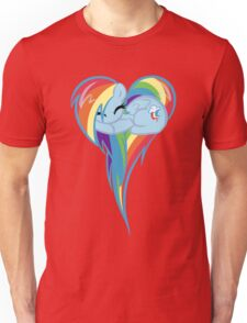 Heart Of Rainbow Dash Unisex T-Shirt