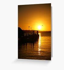 Russell Sunset Greeting Card