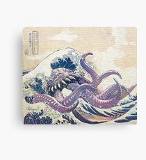 The Great Ultros Off Kanagawa Canvas Print