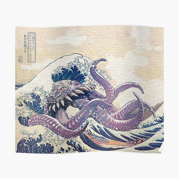 The Great Ultros Off Kanagawa Poster