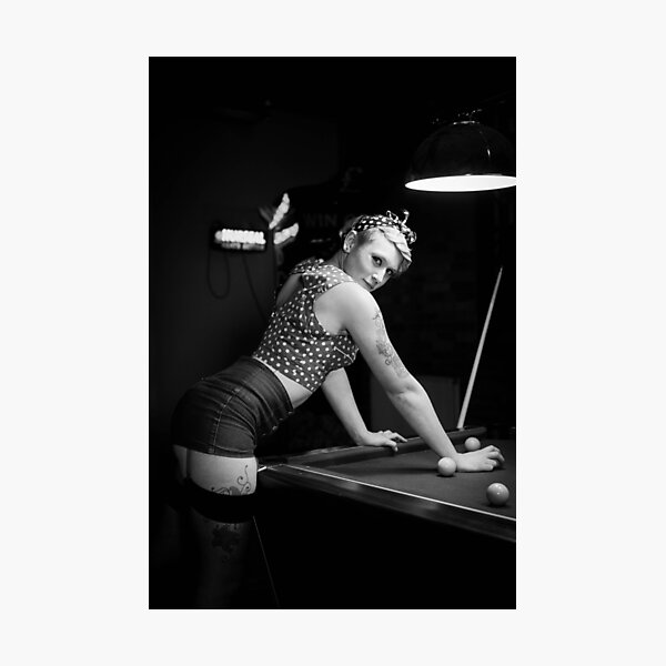 Pin-up girl Photographic Print