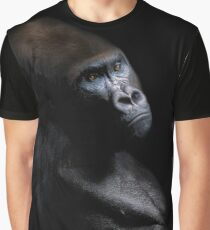 Gorilla Black Graphic T-Shirt