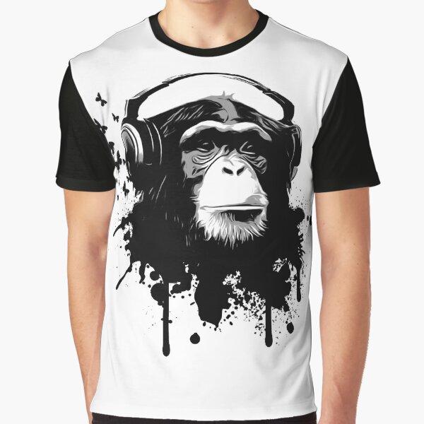 Monkey Business Graphic T-Shirt