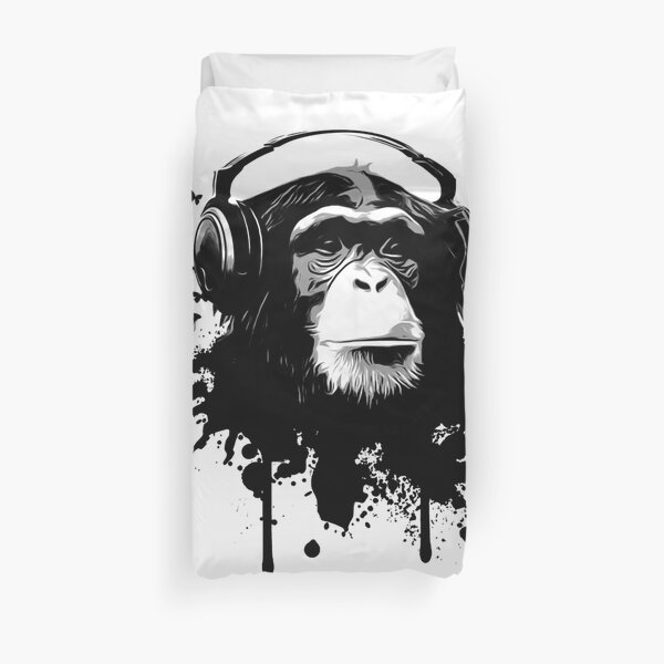 Monkey Business Duvet Cover