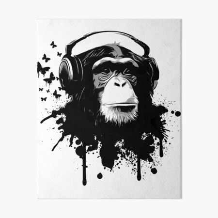 Monkey Business Art Board Print