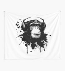 Monkey Business Wall Tapestry