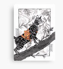 Black pawn #3 Canvas Print