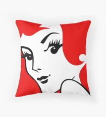 Miss Redhead [iPad / Phone cases / Prints / Clothing / Decor] Throw Pillow