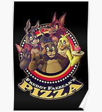 Willkommen bei Freddy Fazbears Pizza! Poster