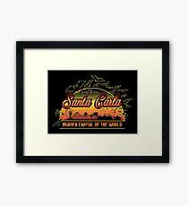 The Lost Boys - Santa Carla Framed Print