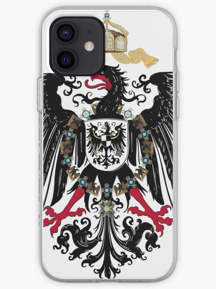Empire allemand aigle   Coque iPhone