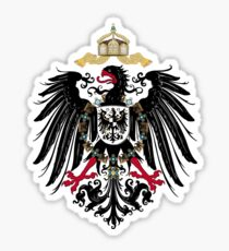 German Empire Eagle Sticker