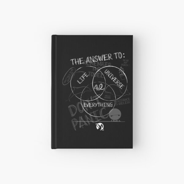 the answer is... Hardcover Journal