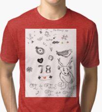 Louis Tattoos Tri-blend T-Shirt